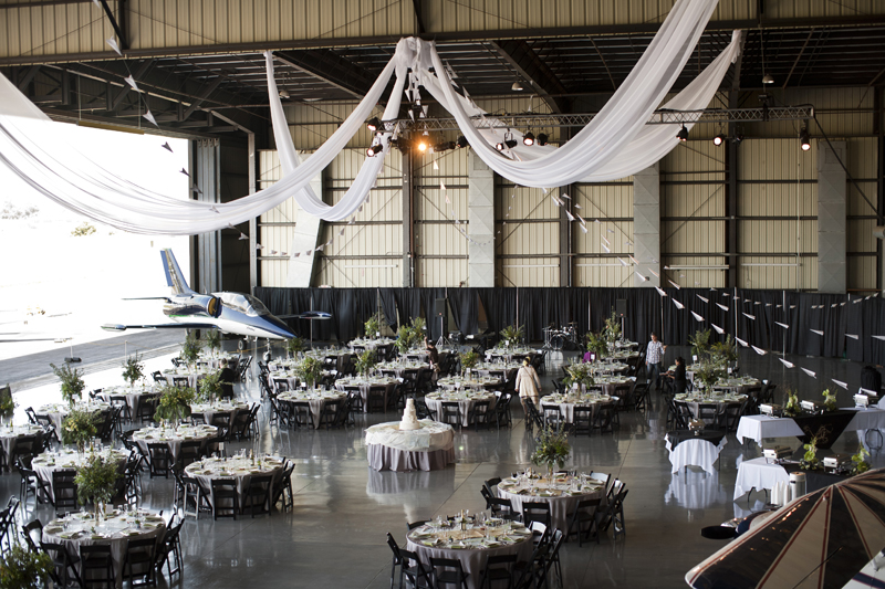 Airplane Hangar Wedding: 301 Moved Permanently