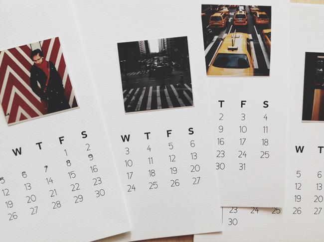 Diy Calendar On Word : Diy calendar there she goes